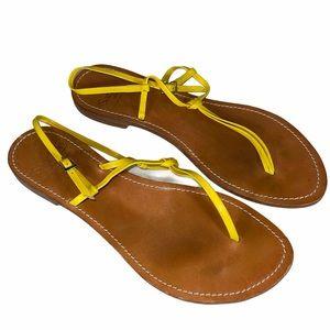 Tesorone Brothers il Sandalo Leather Sandals Sz 9